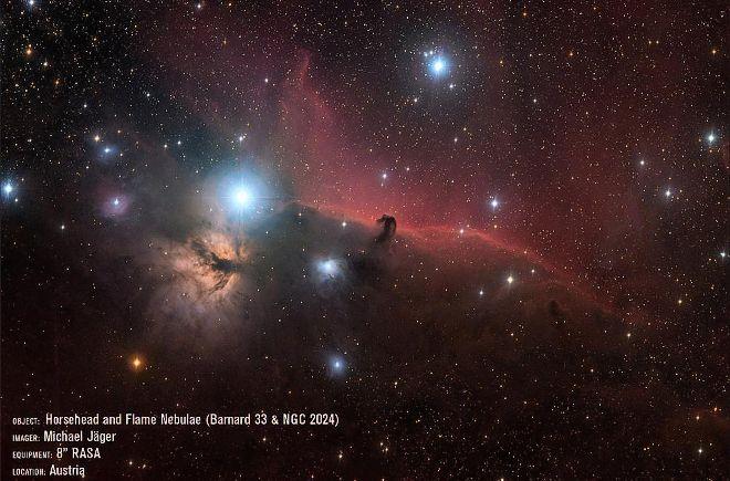 Komplex mlhovin v Orionu